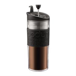 TRAVEL PRESS Coffee maker, 0.45 l, 15 oz Black