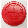 Lid Cup Dome, Red  Fits 8S 10-24oz Cup (1000/cs)