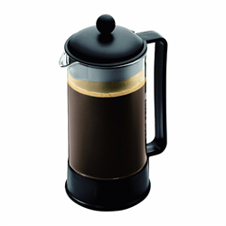 BRAZIL Coffee maker, 8 cup, 1.0 l, 34oz Black